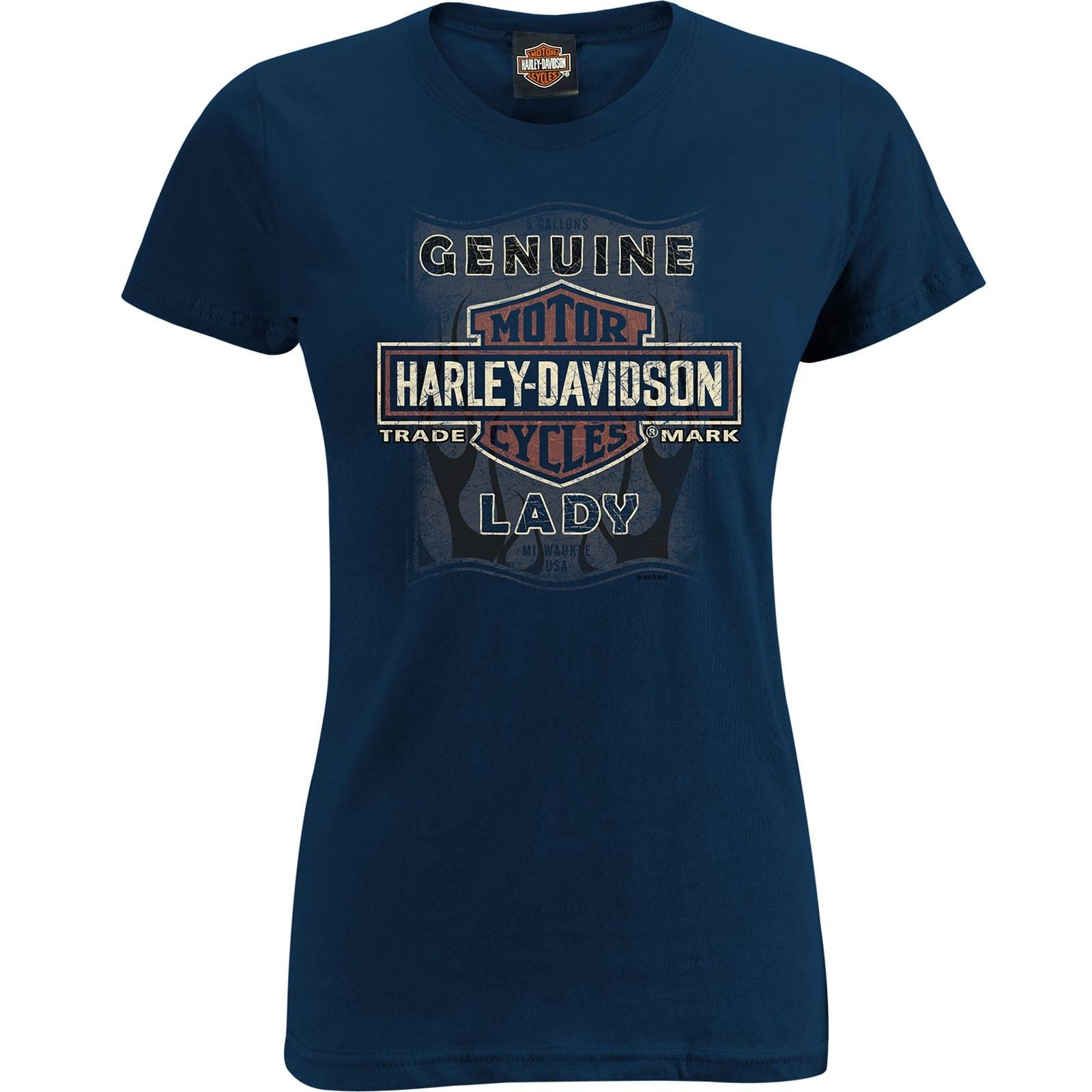 Fit slim harley for women davidson t shirts