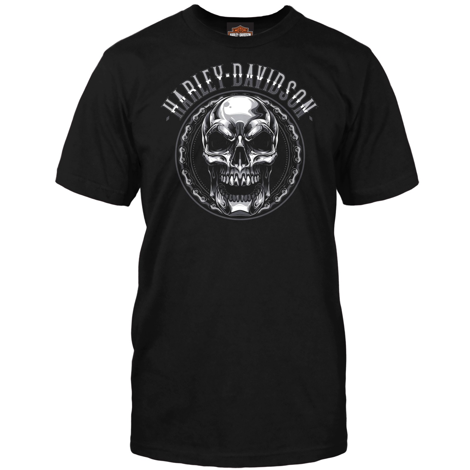 Harley-Davidson Men's Skull Graphic T-Shirt - USAG Stuttgart | Chromed Out