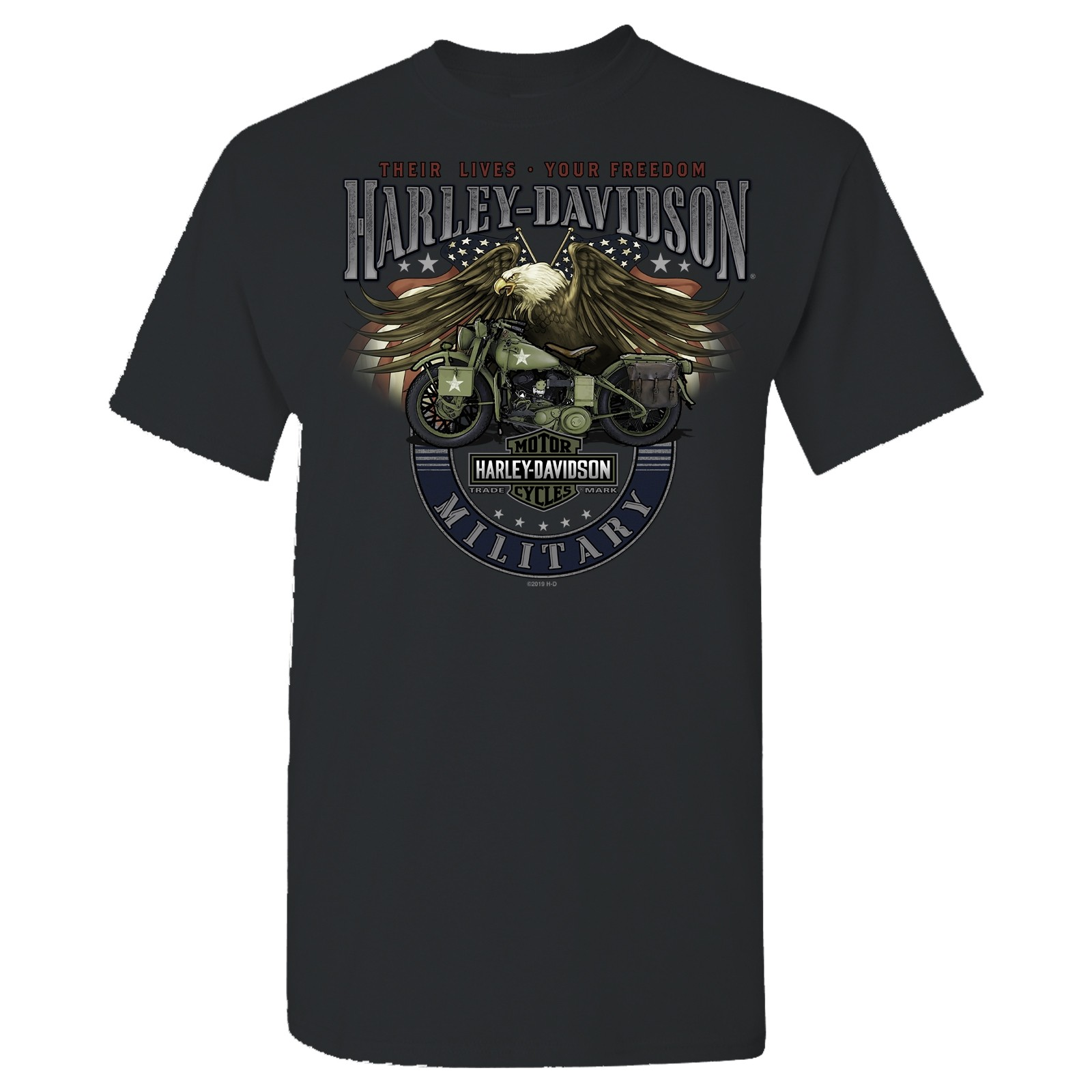 Men's Smoke Grey Graphic T-Shirt - Overseas Tour | Eagle Bike