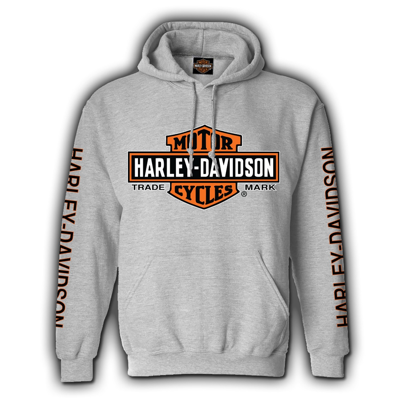Harley-Davidson Military Bar & Shield Pullover Sweatshirt - Eagle Custom Overseas Tour