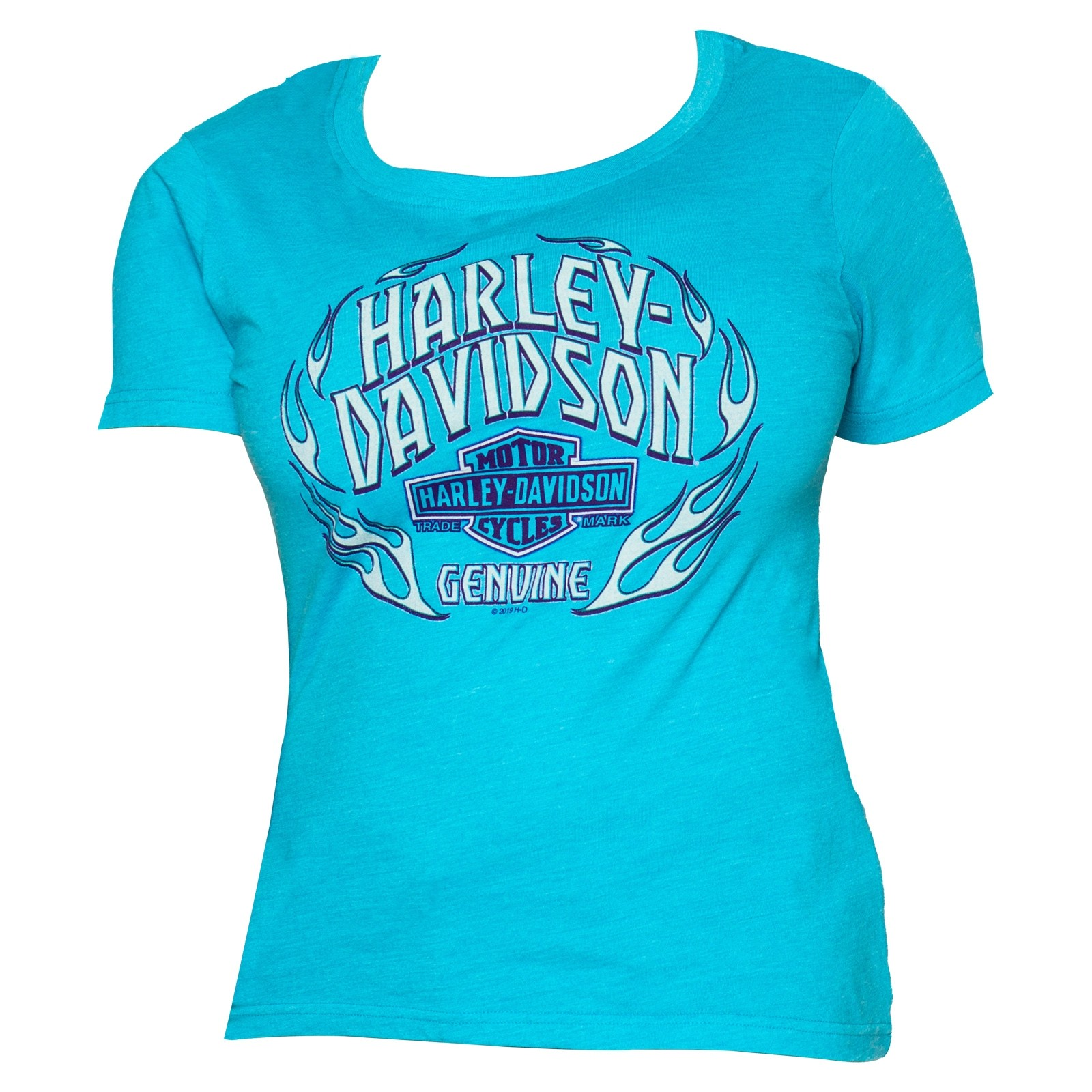 Harley-Davidson Women's Short-Sleeve Scoop Neck Graphic T-Shirt - Yokosuka | Flashpoint
