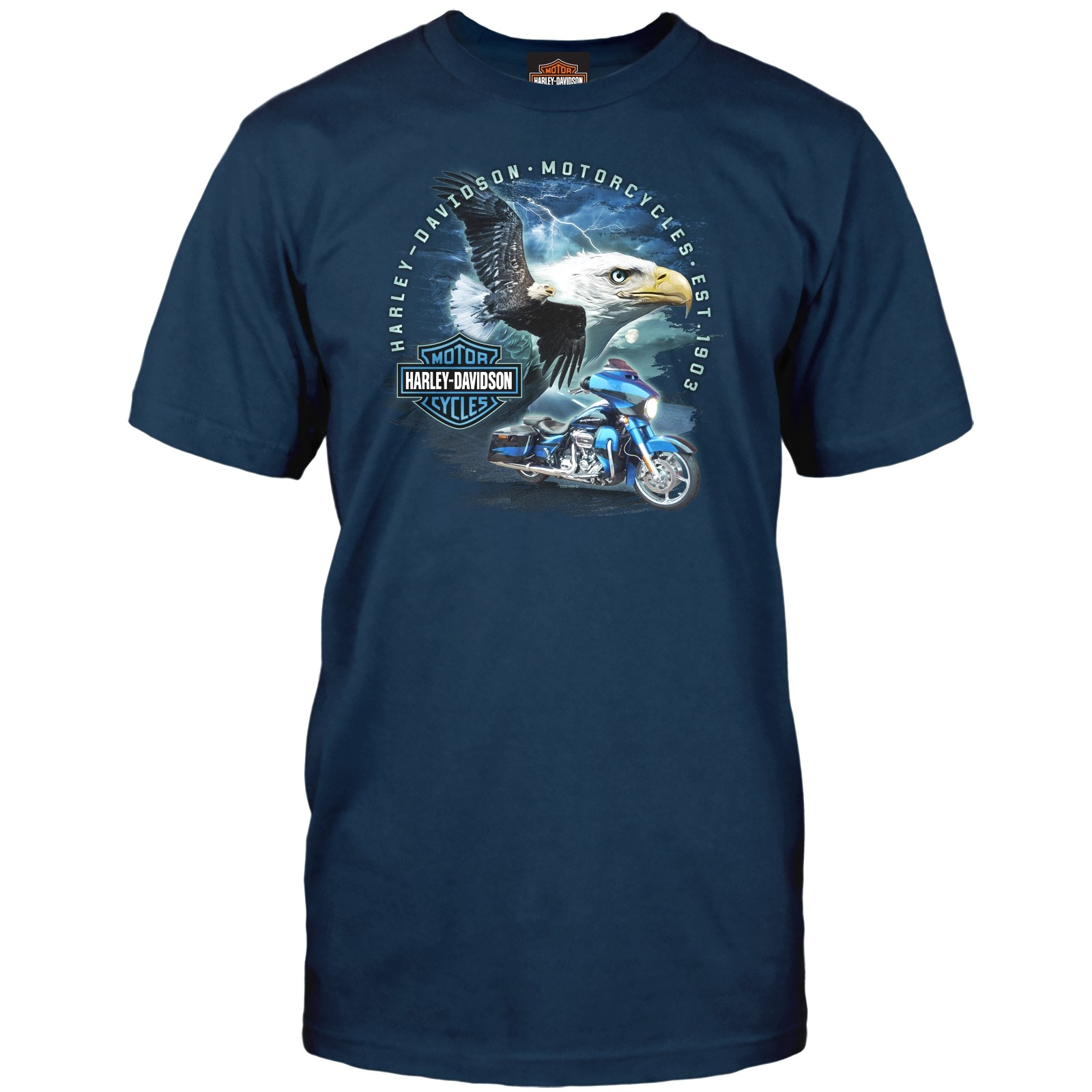 Harley-Davidson Men's Graphic Tee - Ramstein Air Base | Gliding