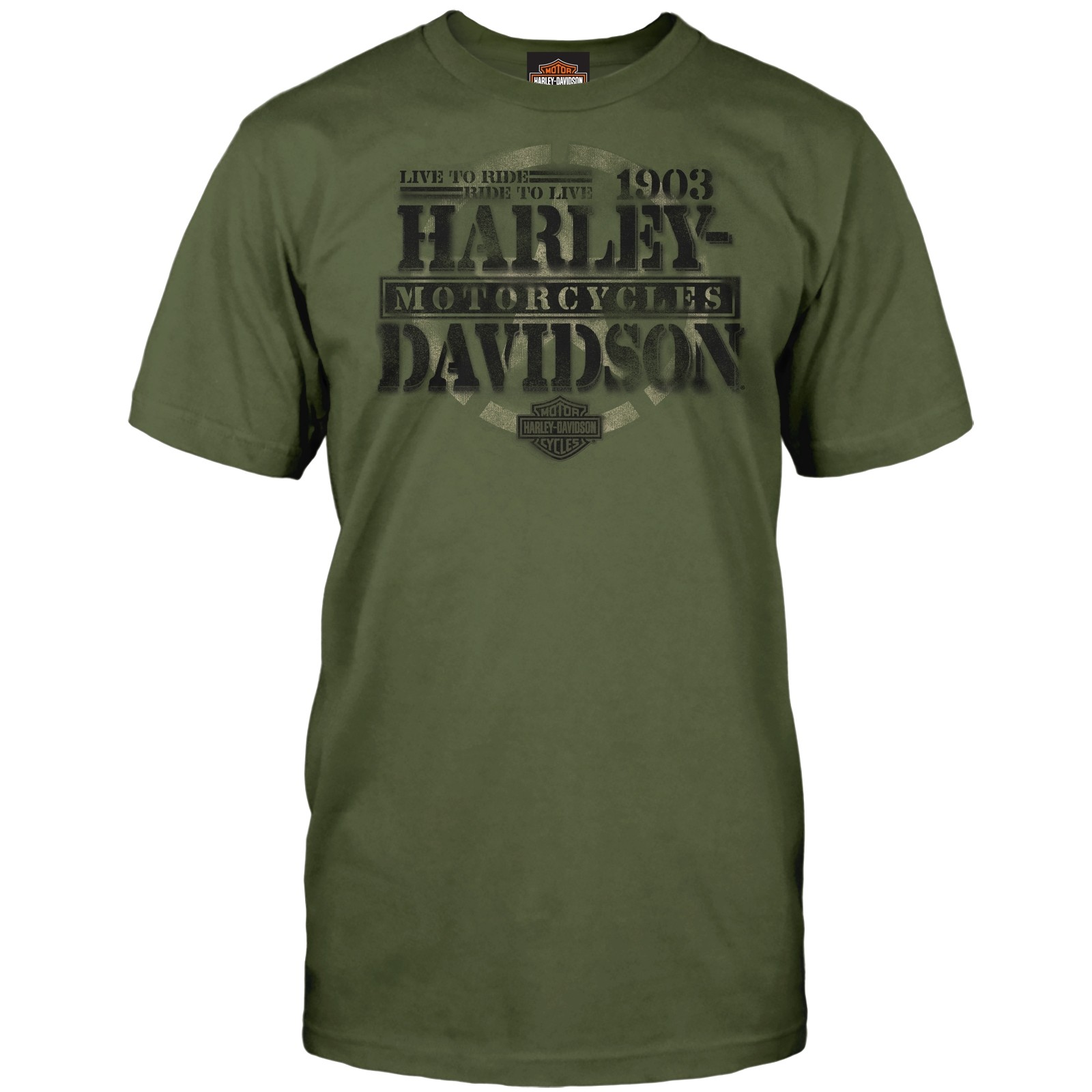 Harley-Davidson Military - Men's Graphic Short-Sleeve Tee - Overseas Tour | Honor
