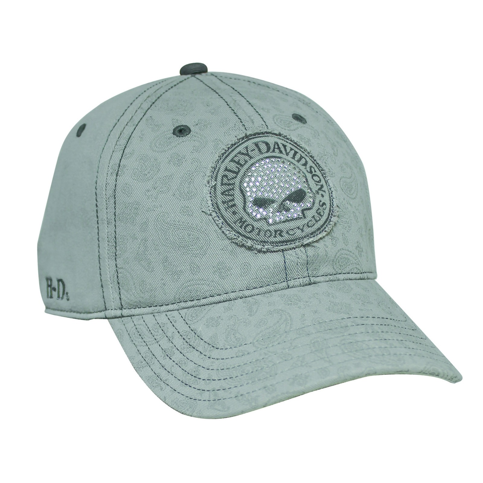 Harley-Davidson Women's Adjustable Closure Ballcap - Overseas Tour | Hubcap