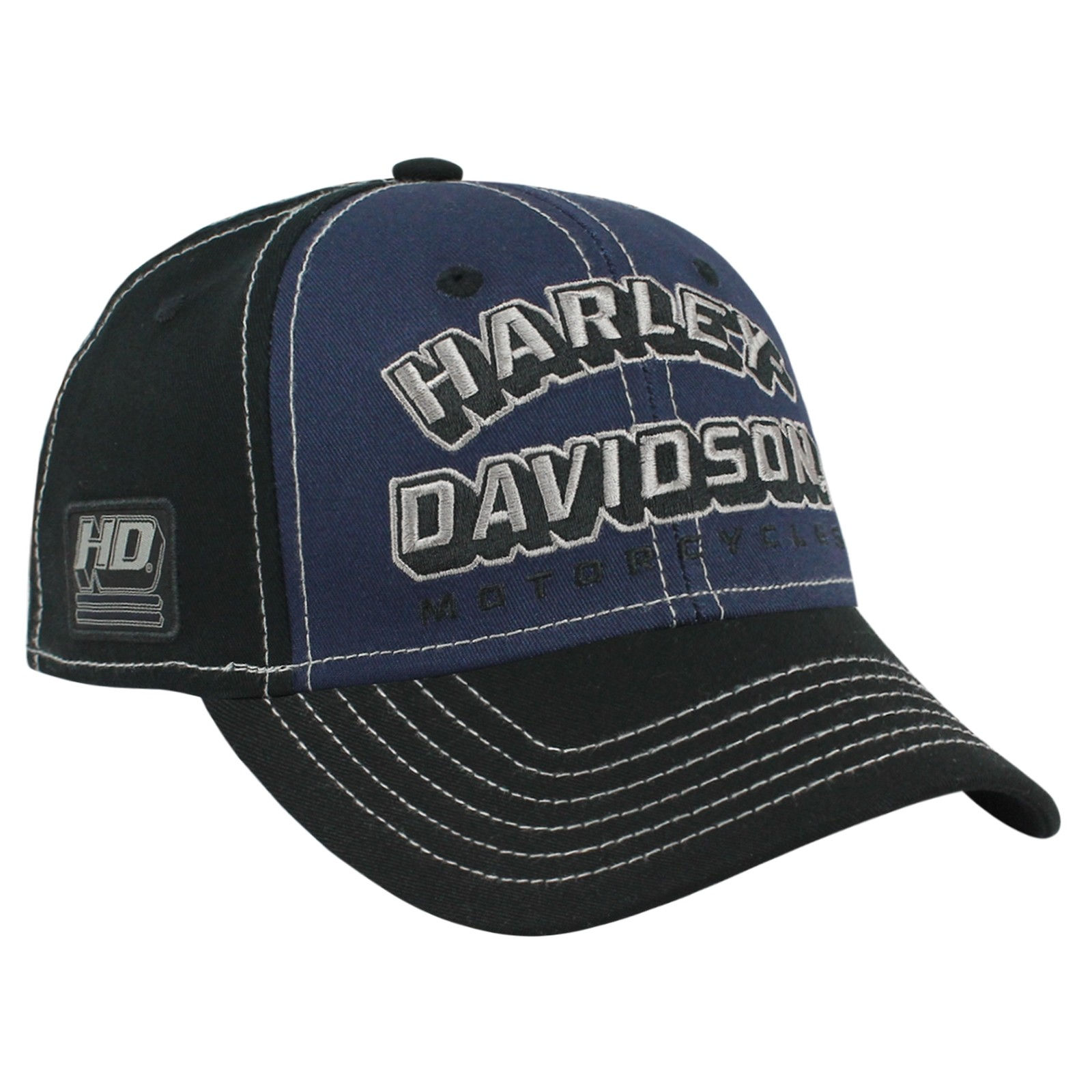 Harley-Davidson Men's Ballcap - Overseas Tour | Modern Blues