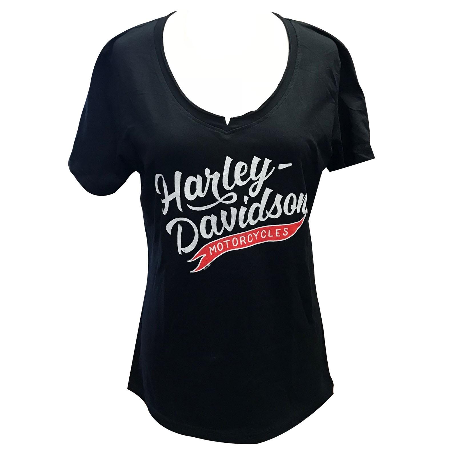 Harley-Davidson Women's V-Neck T-Shirt - Overseas Tour | Momentum