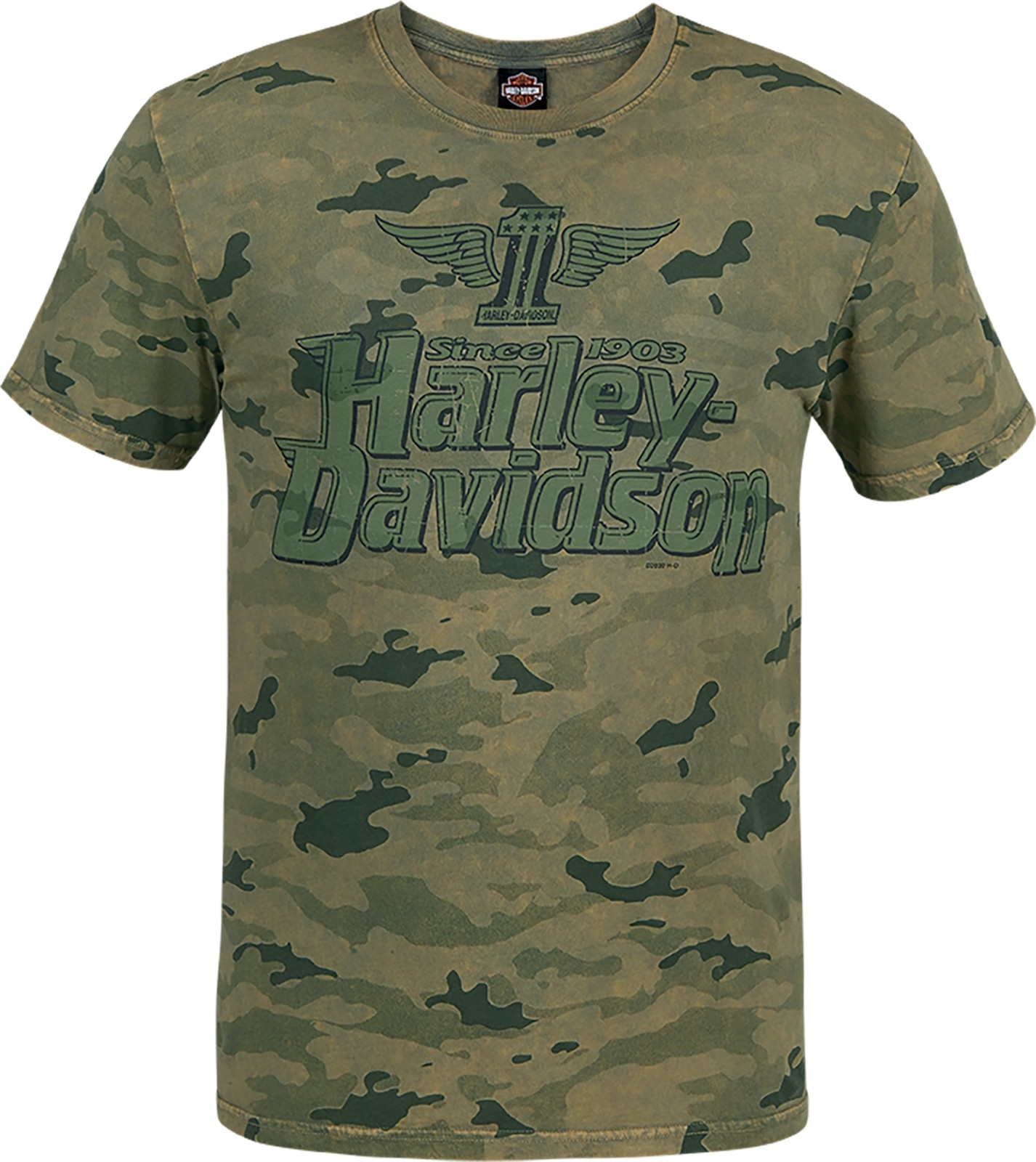 Men's Camouflage Graphic T-Shirt - USAG Grafenwohr | Premium Name