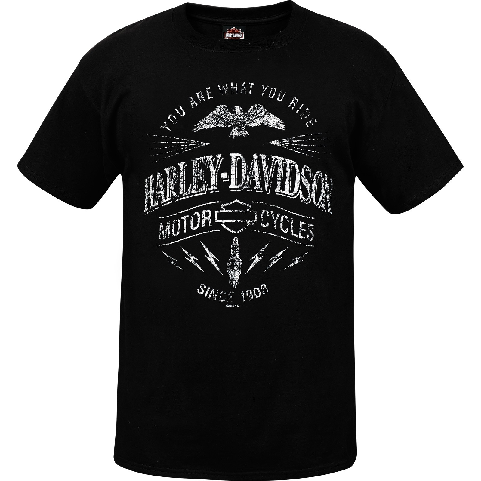Harley-Davidson Military Men's Lightweight Graphic Pocket Tee - NAS Sigonella | Ride Spark
