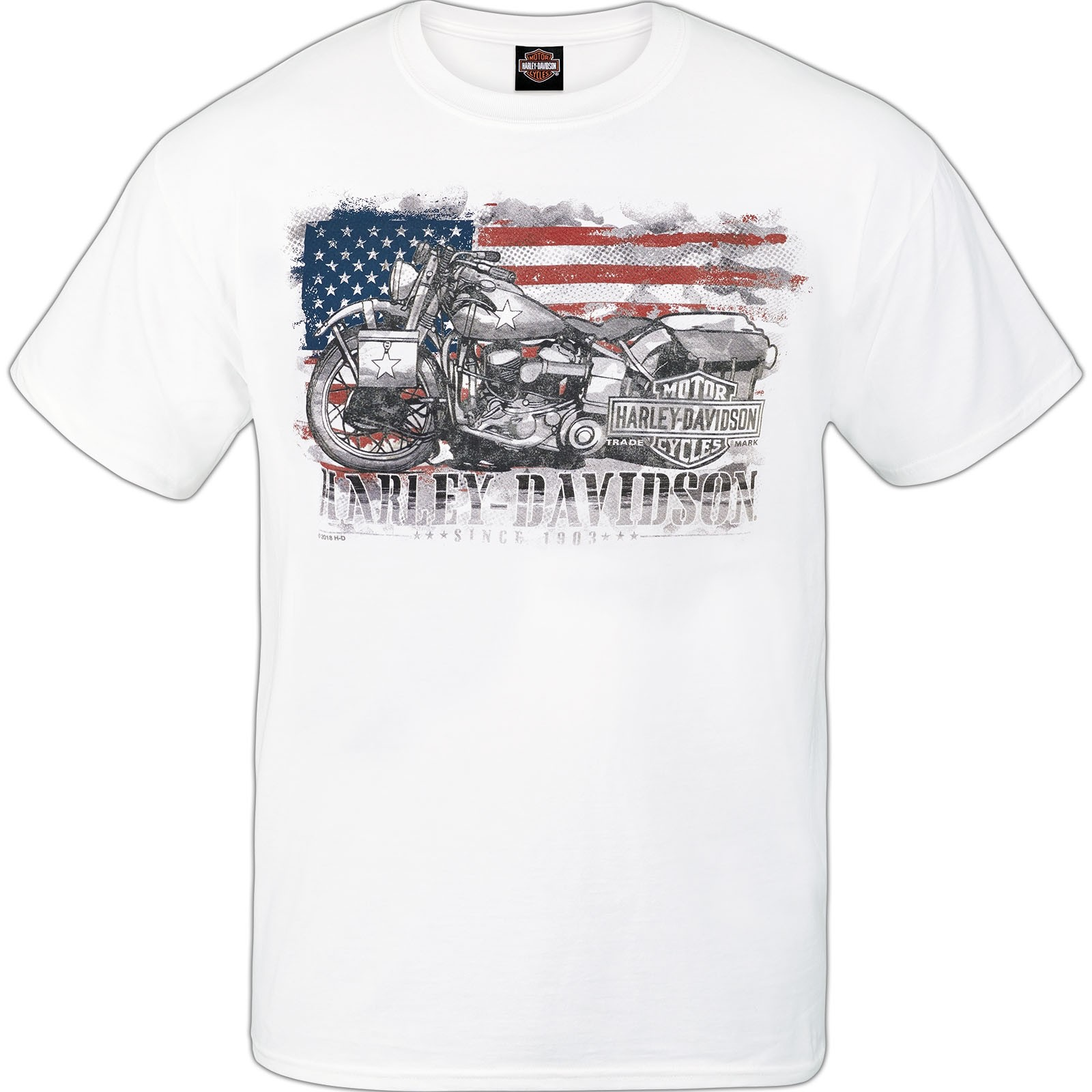 Harley-Davidson Military Men's Graphic Tee - Ramstein Air Base (MADE IN USA) | Hero Bike