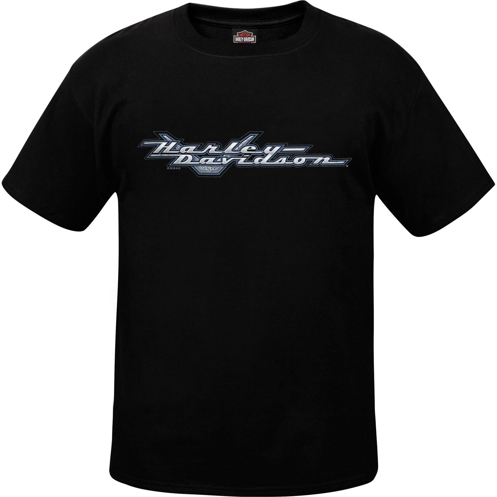 Harley-Davidson Men's Short-Sleeve Tee - Yokosuka | Road Logo