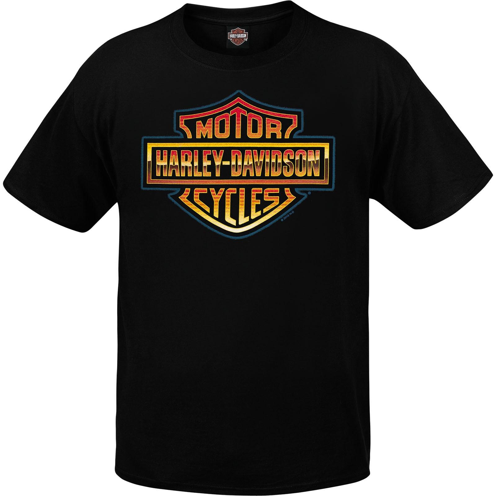 Harley-Davidson Men's Short-Sleeve T-Shirt - NSA Naples | Retro Shine
