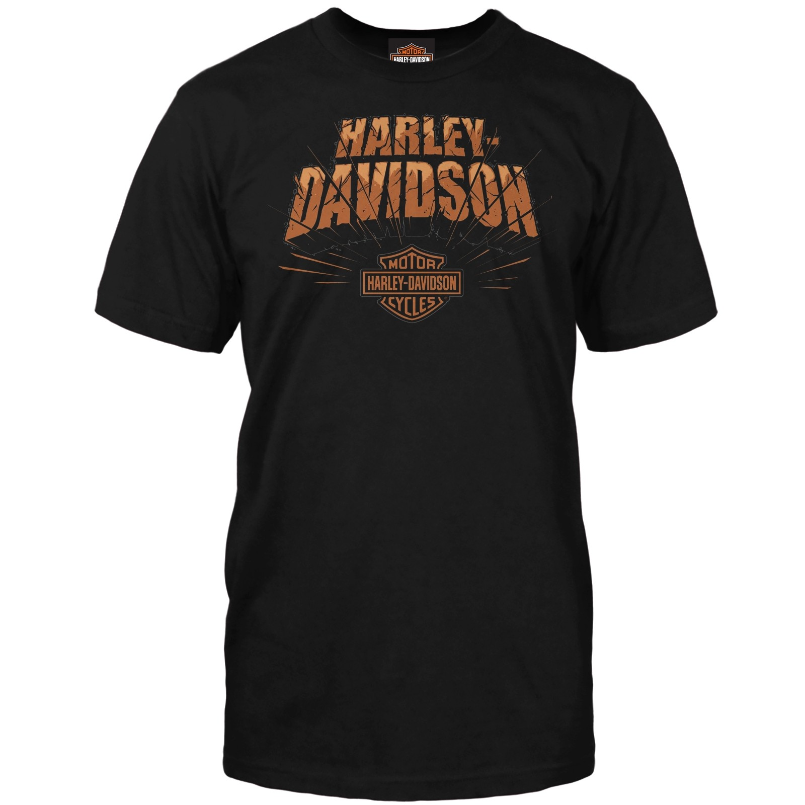 Harley-Davidson Men's Short-Sleeve Graphic Tee - Osan Air Base | Rock Splitter