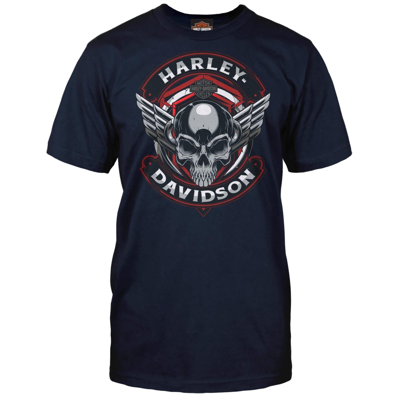 Harley-Davidson Men's Graphic Tee - Camp Humphreys | Steel Winged