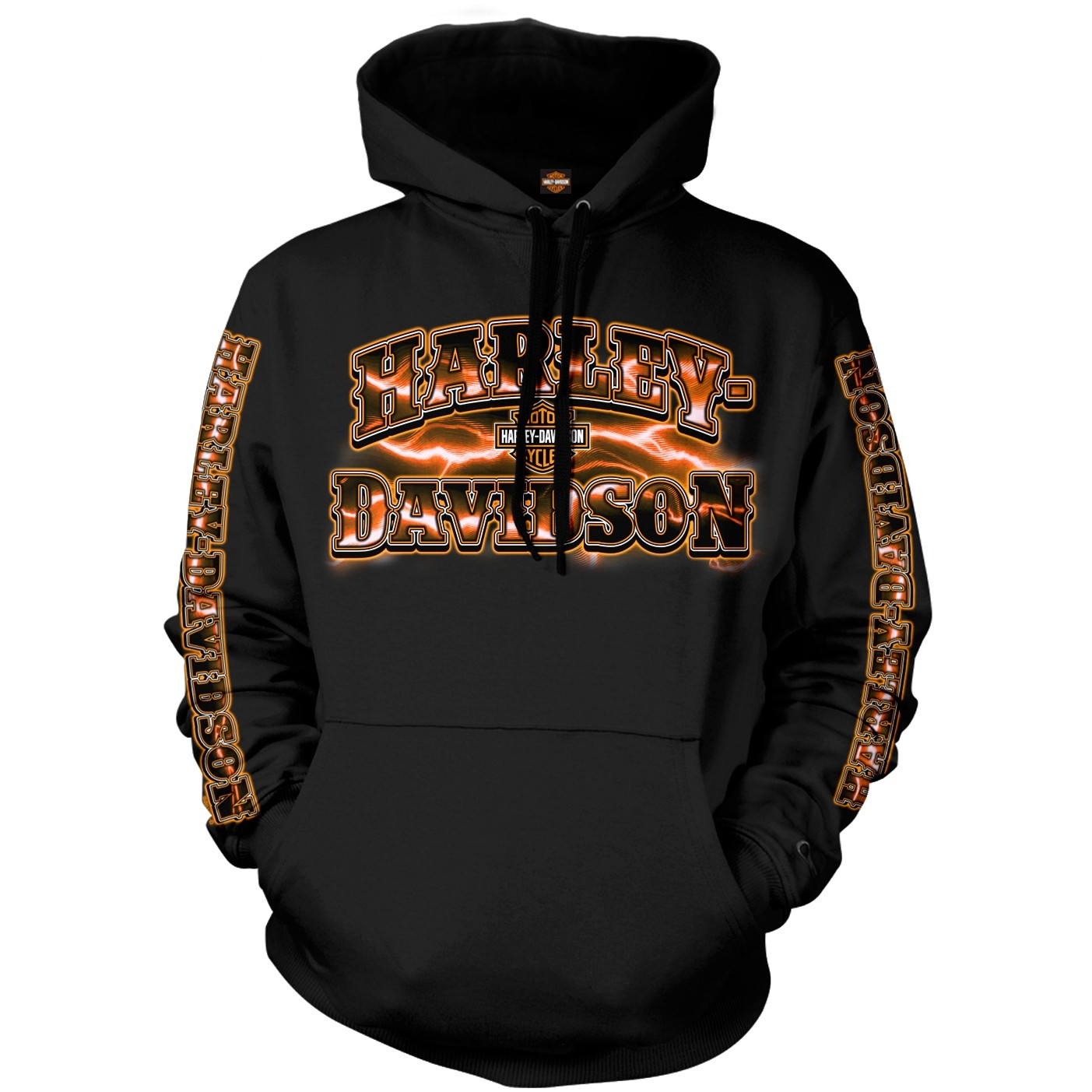 Harley-Davidson Men's Pullover Hoodie - Overseas Tour | Voltage