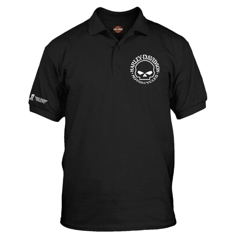 Harley-Davidson Military Willie G Polo Shirt - Overseas Tour