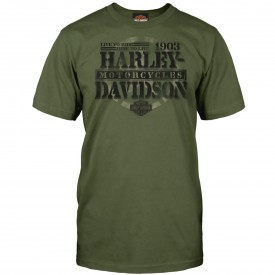 Men's Military Green Graphic Short-Sleeve Tee - Overseas Tour | Honor
