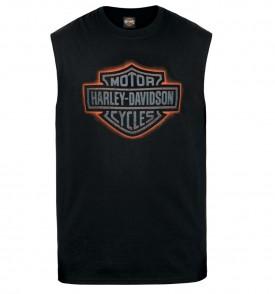 Men's Black Sleeveless Graphic T-Shirt - Al Udeid Air Base | Hot Shield