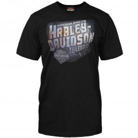 Men's Black Crew Neck Graphic T-Shirt - RAF Mildenhall | Iron Freedom