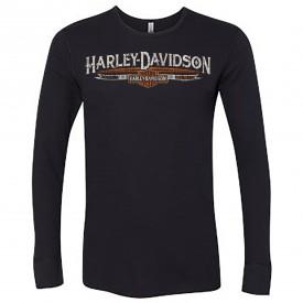 Harley-Davidson Men's Long-Sleeve Thermal Shirt - Camp Humphreys   MCMIII Banner