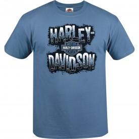 Harley-Davidson Men's Graphic Short-Sleeve T-Shirt - USAG Stuttgart | Negative H-D