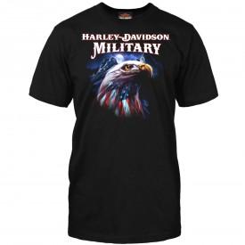 Harley-Davidson Men's Graphic Short-Sleeve T-Shirt - Overseas Tour | Patriot Eagle