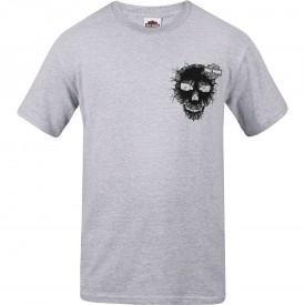 Harley-Davidson Men's Graphic T-Shirt - RAF Lakenheath | Skull Cracked (MADE IN USA)