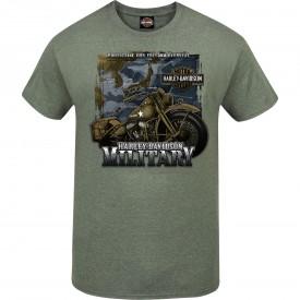 "Harley-Davidson Men's Graphic T-Shirt - ""Tour of Duty Pacific"""