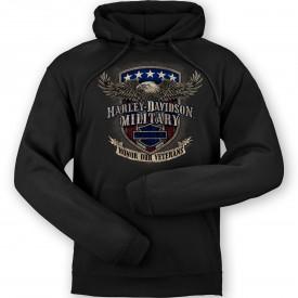 Men's Pullover Hooded Graphic Sweatshirt - Overseas Tour | Veterans Support