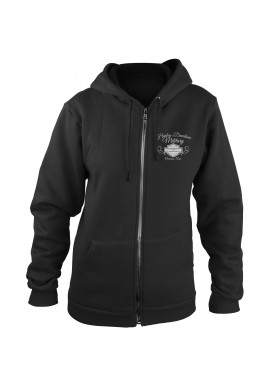 Harley-Davidson Women's Zippered Hoodie Sweatshirt - Overseas Tour | American Angel