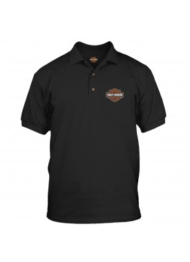 Harley-Davidson Military Bar & Shield Polo Shirt - Overseas Tour
