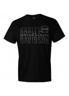 Men's Black Graphic Short-Sleeve T-Shirt - USAG Grafenwohr | Name Fade