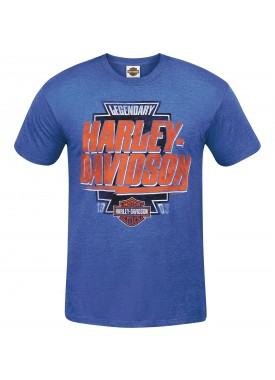 Harley-Davidson Men's Lightweight Contemporary Fit T-Shirt - USAG Wiesbaden | Name Flash