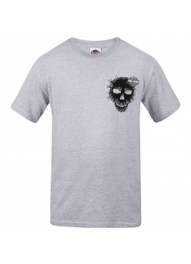 Harley-Davidson Men's Graphic T-Shirt - RAF Lakenheath | Skull Cracked (MADE IN USA)