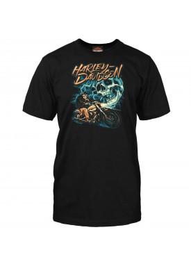 Harley-Davidson Men's Graphic T-Shirt - Kadena Air Base | Ride The Lightning