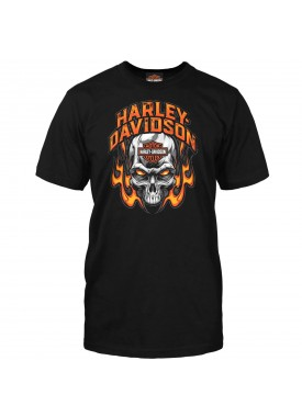 Harley-Davidson Men's Skull Graphic T-shirt - Camp Arifjan | Toasty