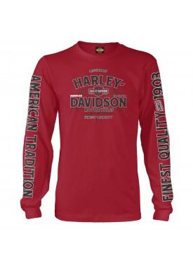 Harley-Davidson Men's Long-Sleeve T-Shirt - Kadena Air Base | Vintage Tradition