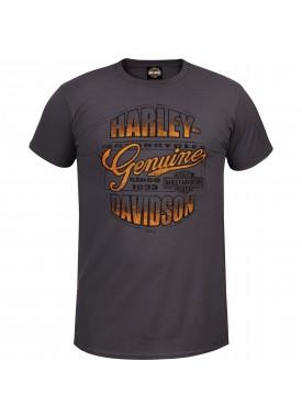 Harley-Davidson Men's Lightweight Contemporary Fit Tee - Kadena Air Base   Worn Genuine