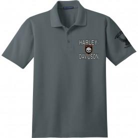 Harley-Davidson Military Men's Short-Sleeve Polo Sport Shirt - Overseas Tour | Inner Shield