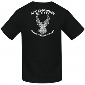 Harley-Davidson Kid/Youth Bar & Shield Black T-Shirt - Ramstein Air Base