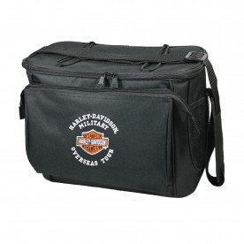 Harley-Davidson Military Cooler Pack - 12 Pack Bar & Shield | Overseas Tour