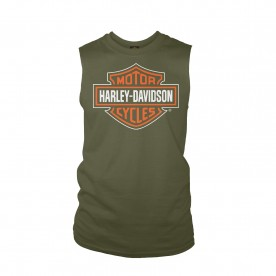 Harley-Davidson Men's Sleeveless Graphic Tee - Yokosuka Base | Dashing