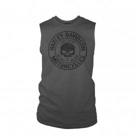 Harley-Davidson Men's Sleeveless Pocket Graphic T-Shirt - Baghdad | Decree