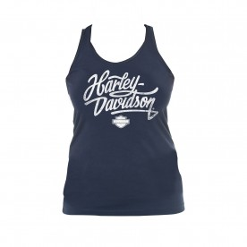 Women's Graphic Full Back Tank Top - NSA Bahrain | Dirty Vintage