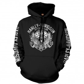 Harley-Davidson Pullover Hooded Sweatshirt - Military Collage | Epic