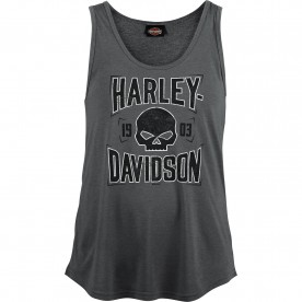 Harley-Davidson Women's Scoop Neck Tank Top - Camp Lemonnier | G Shield