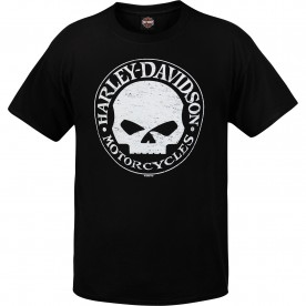 Harley-Davidson Men's Willie G Skull Graphic T-Shirt - Camp Lemonnier | G Stress