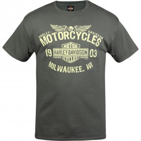 Harley-Davidson Men's Graphic T-Shirt - NSA Bahrain | MC Logo