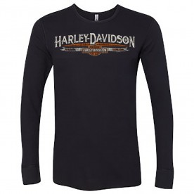 Harley-Davidson Men's Long-Sleeve Thermal Shirt - Camp Humphreys | MCMIII Banner