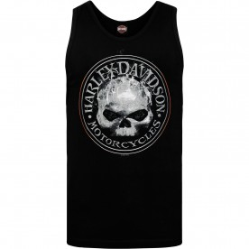 Harley-Davidson Military Men's Graphic Tank - NSA Bahrain | Smokey G