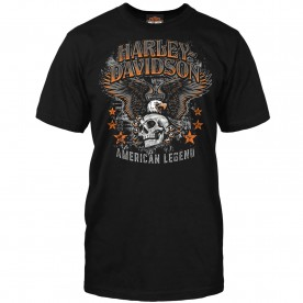 Harley-Davidson Men's Skull Eagle Graphic T-Shirt - NSA Naples | Roll Call